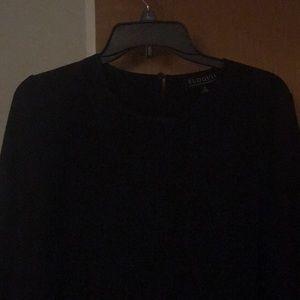 Black Eloquii blouse EUC